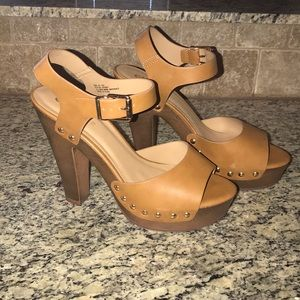 Shoes - Platform Block heels